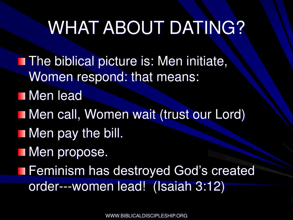 WHAT ABOUT DATING?