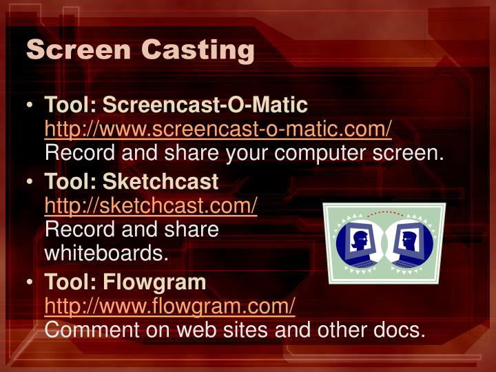 Screen Casting