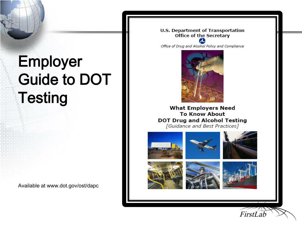 Employer Guide to DOT Testing