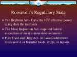 roosevelt s regulatory state14