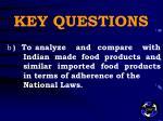 key questions4
