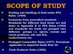 scope of study10