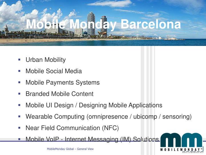 MoMo Barcelona Chapter