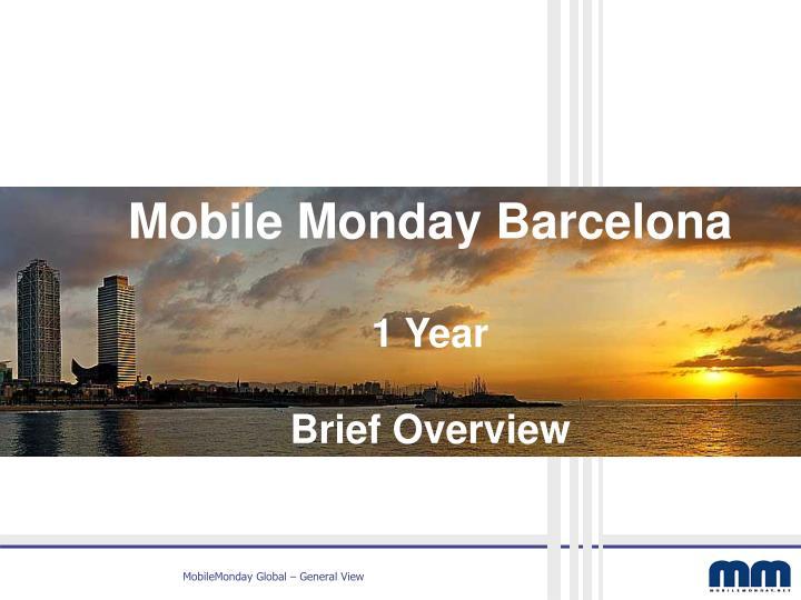 Mobile Monday Barcelona