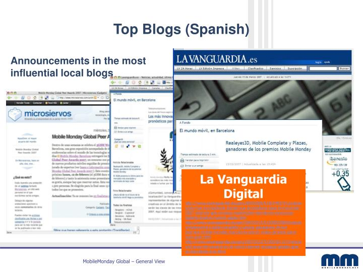 Top Blogs (Spanish)