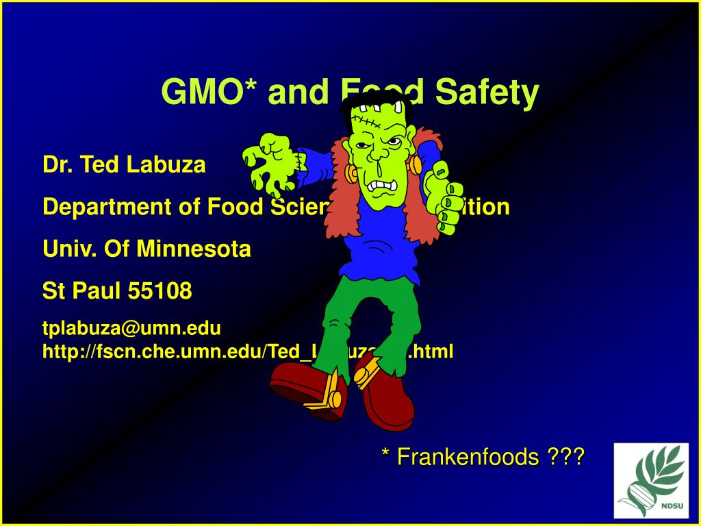 gmo and food safety l.