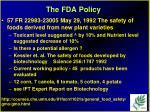 the fda policy30