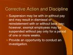 corrective action and discipline97