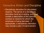corrective action and discipline98