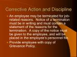 corrective action and discipline99