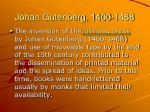 johan gutenberg 1400 1468