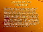 leonardo de vinci 1452 1519