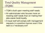 total quality management tqm3
