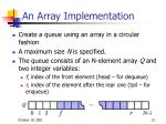 an array implementation1