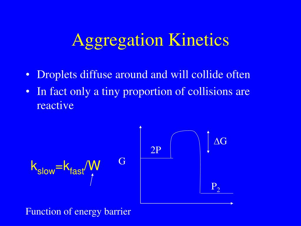 Aggregation Kinetics
