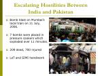 escalating hostilities between india and pakistan6