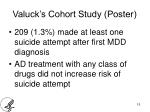 valuck s cohort study poster1