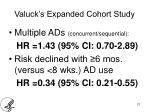 valuck s expanded cohort study3