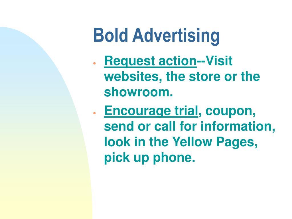 Bold Advertising