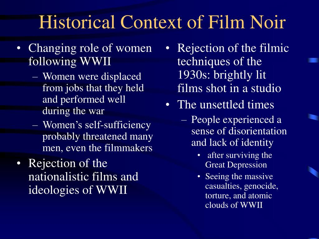 Changing role of women following WWII