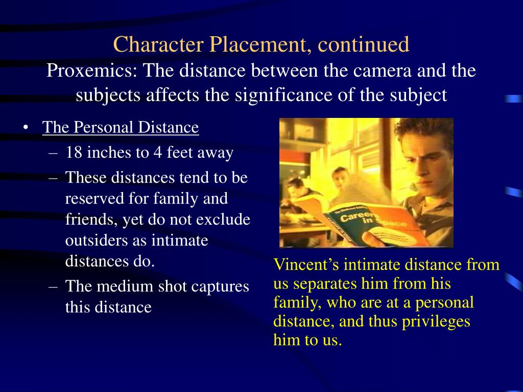 The Personal Distance