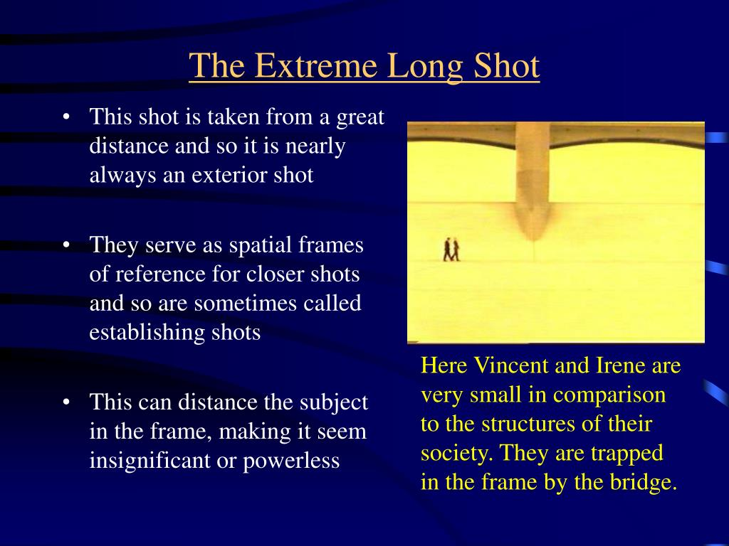 The Extreme Long Shot