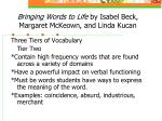 bringing words to life by isabel beck margaret mckeown and linda kucan33