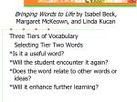 bringing words to life by isabel beck margaret mckeown and linda kucan34