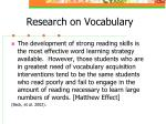 research on vocabulary9