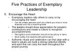 five practices of exemplary leadership13