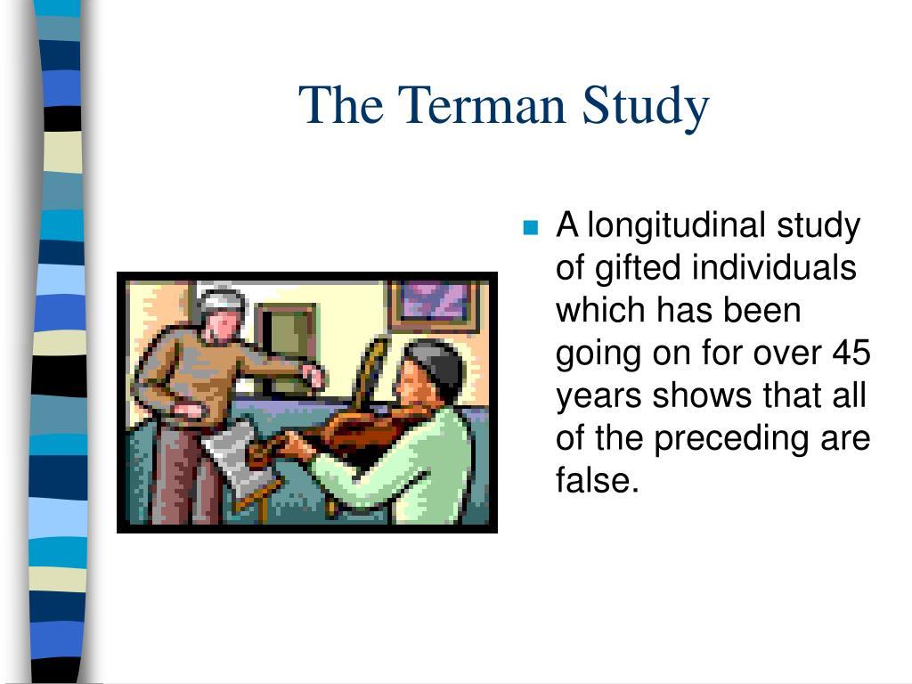 The Terman Study