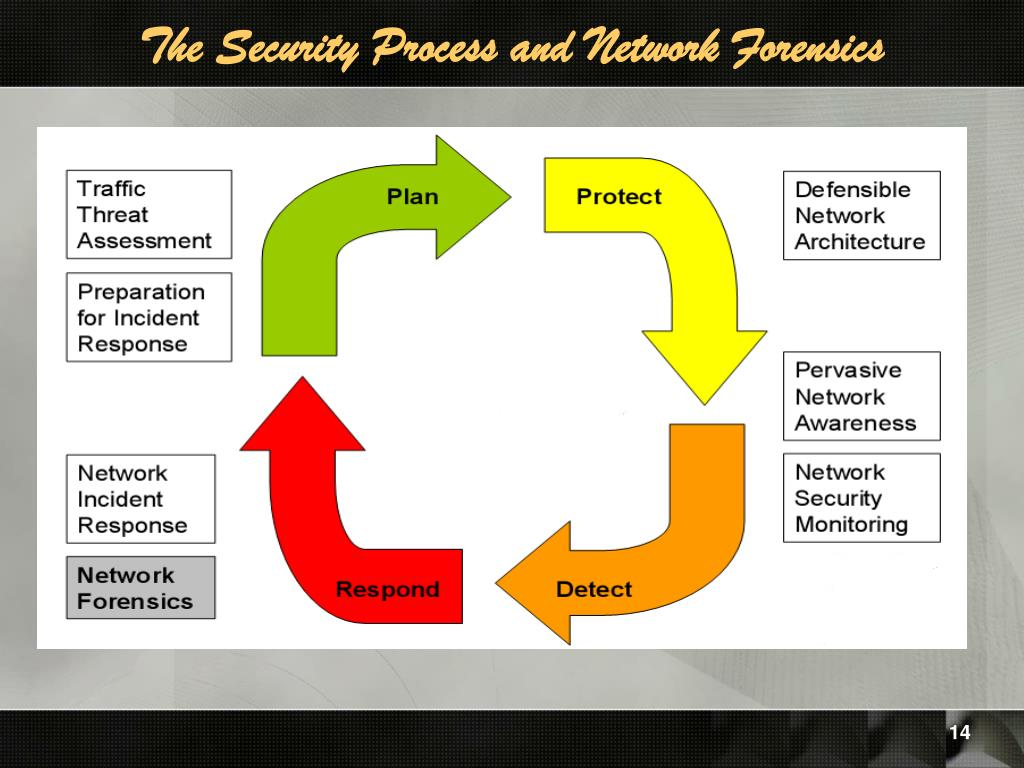 The Security Process and Network Forensics