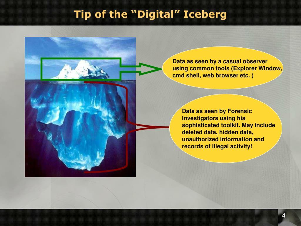 "Tip of the ""Digital"" Iceberg"