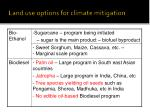 land use options for climate mitigation6