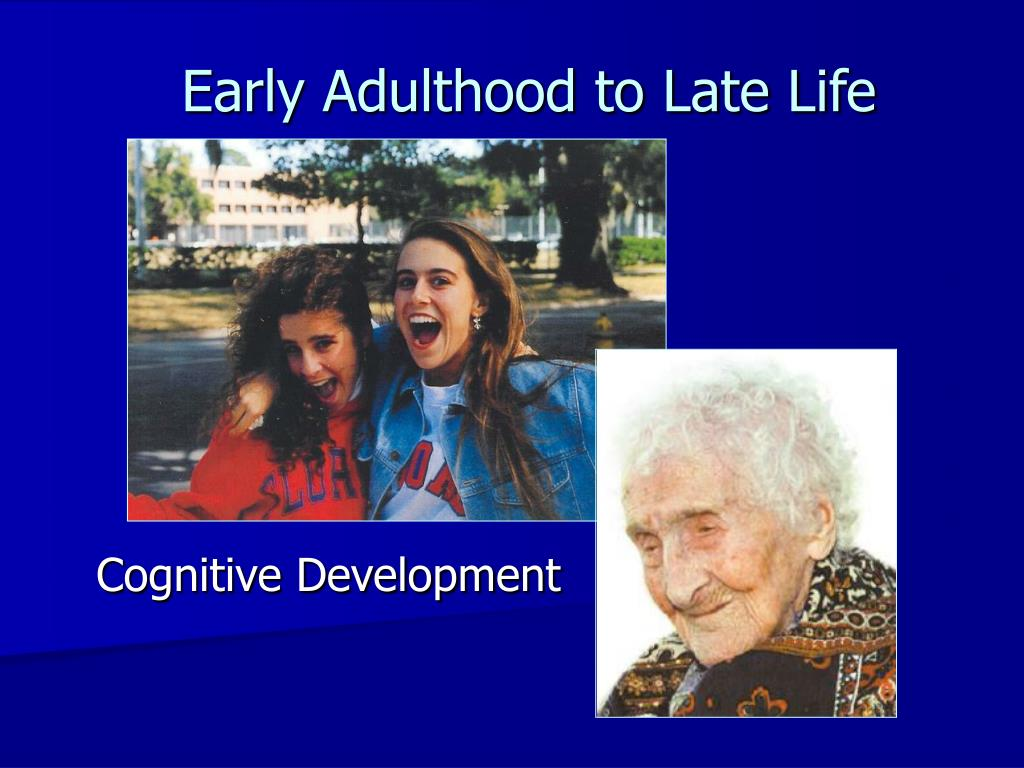 early adulthood to late life l.