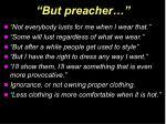 but preacher