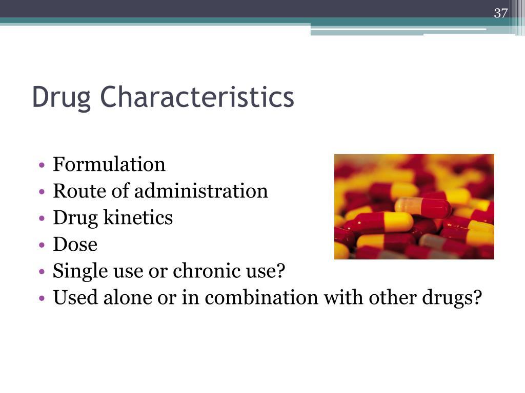 Drug Characteristics