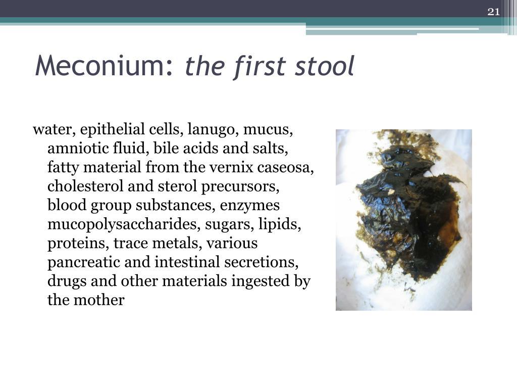 Meconium: