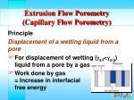extrusion flow porometry capillary flow porometry11