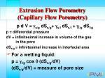 extrusion flow porometry capillary flow porometry13