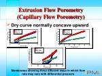 extrusion flow porometry capillary flow porometry18