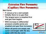 extrusion flow porometry capillary flow porometry20