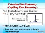extrusion flow porometry capillary flow porometry29