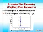 extrusion flow porometry capillary flow porometry30