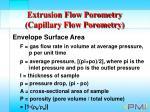 extrusion flow porometry capillary flow porometry34