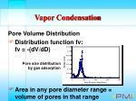 vapor condensation91