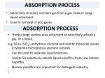 absorption process