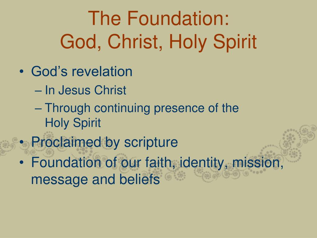 The Foundation: