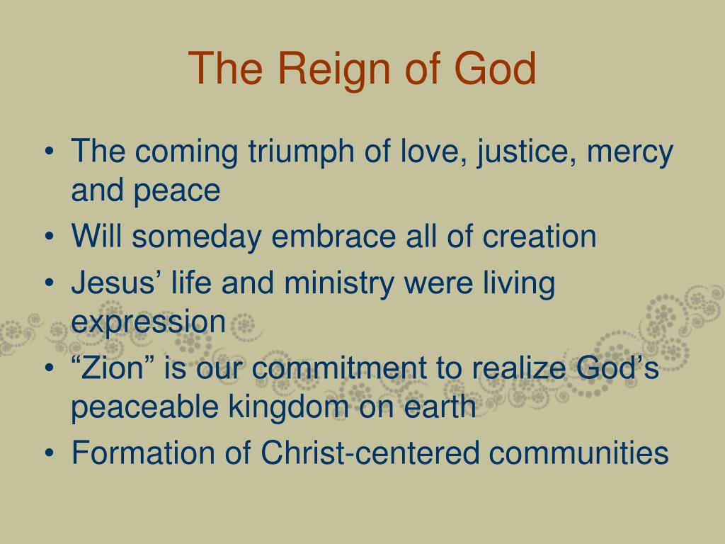 The Reign of God