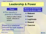 leadership power
